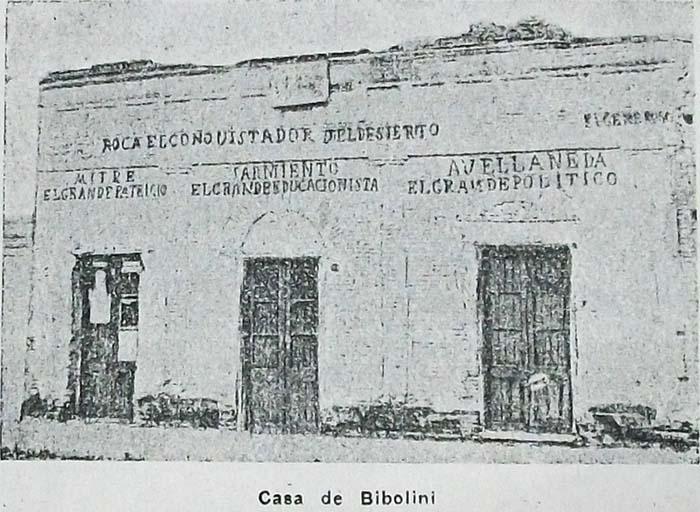 Casa donde vivió Bibolini